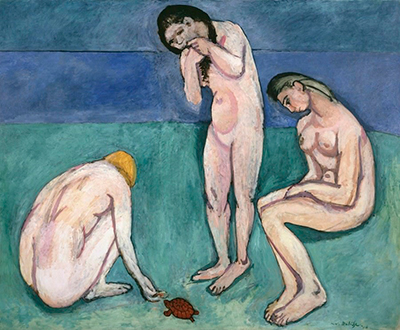 Bathers with a Turtle Henri Matisse